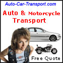 Motorcycle shipping - car transport