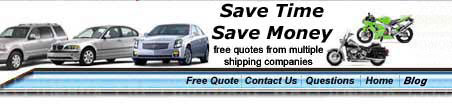 find vehicle shipping companies that are car transport and automobile shipping carriers.